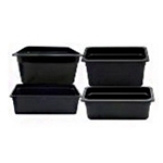Black Food Pans | Restaurant Supplier | Public Kitchen Supply