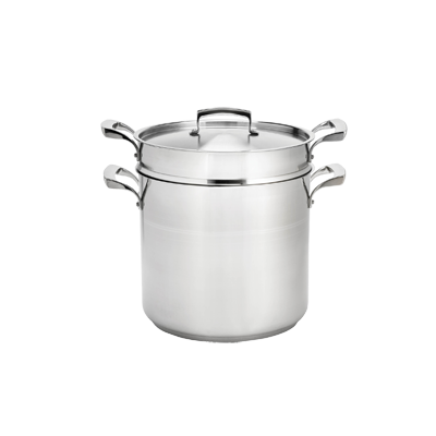 Browne - 16 Qt Double Boiler W/Inset | Public Kitchen Supply