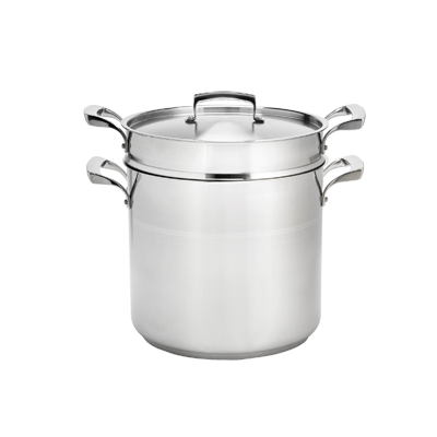 Browne - 20 Qt Induction Double Boiler (SS) | Public Kitchen Supply