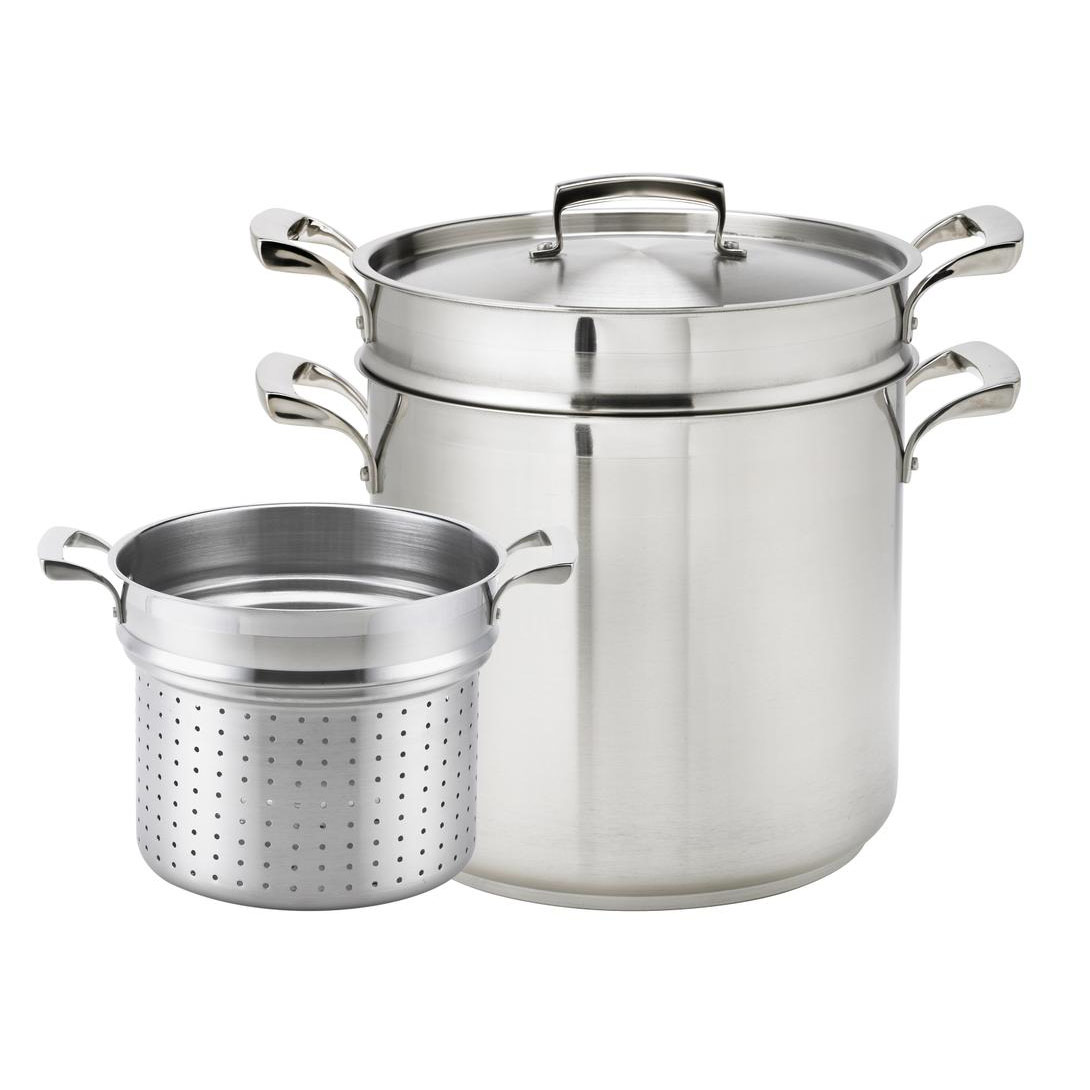 Browne - 12 Qt Pasta Pot (SS) | Public Kitchen Supply