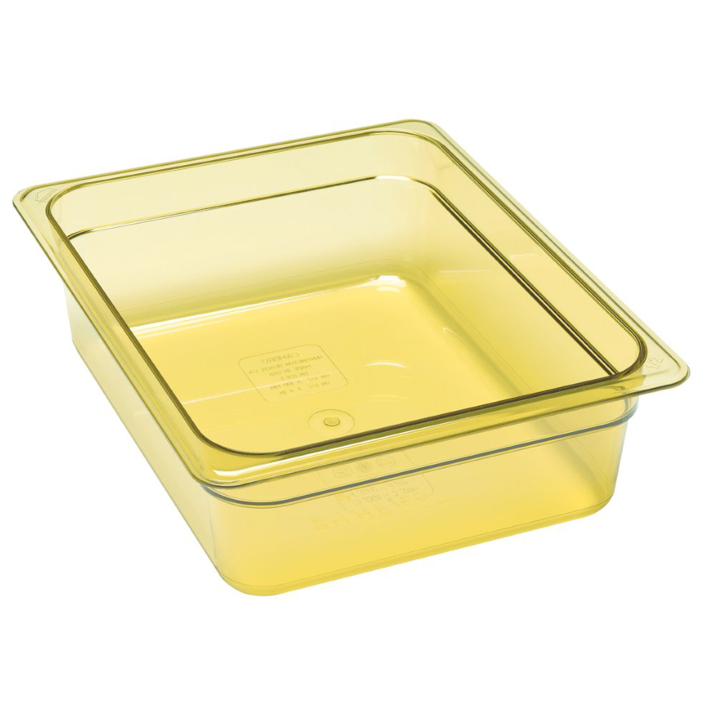 "Cambro - Half 1/2 Size x 4"""" Deep High Heat Food Pan 