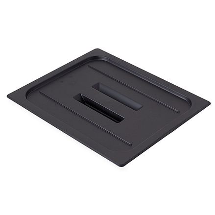 Cambro - Full 1/1 Size Food Pan Cover W/Handle Black Cold | Public Kitchen Supply