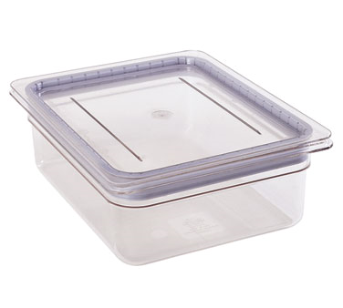 Cambro - 1/3 Size Food Pan GripLid Cover (CLR) | Public Kitchen Supply