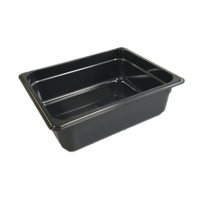 "Cambro - Full 1/1 Size x 6"""" Deep High-Heat Food Pan Black Hot 