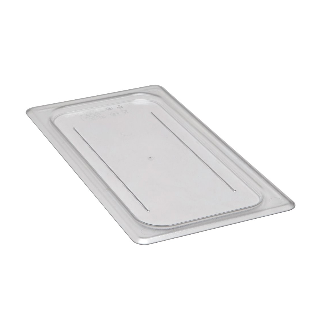 Cambro - Third 1/3 Size Food Pan Cover Clear Cold | Public Kitchen Supply