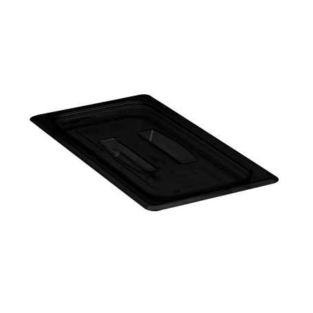 Cambro - Third 1/3 Size Food Pan Cover W/Handle Black Cold | Public Kitchen Supply