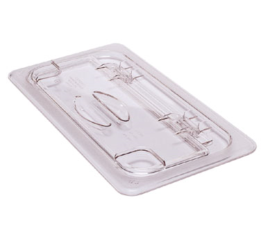 Cambro - Half 1/2 Size Food Pan FlipLid Cover W/Handle Clear Cold | Public Kitchen Supply