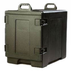 Carlisle- Cateraide™ Food Carrier, end loader, individual tracks, black (PC300N03)