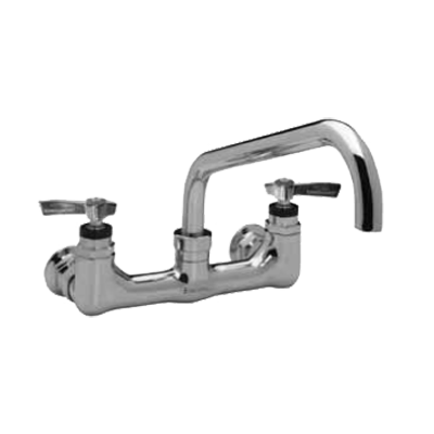 "Component Hardware- Encore® Kettle Faucet, wall mount, 8"" adjustable centers, 12"" swing faucet with 1"" dia. spout, (KL34-8012-SE1)"