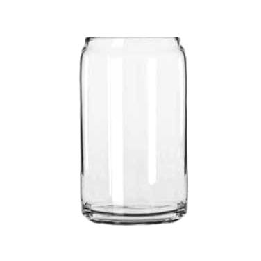 Libbey- Beer Can Glass, 16 oz., glass, clear 24/Case (209)