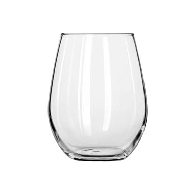 Libbey- Wine Glass, 11-3/4 oz., white wine, Stemless 12/Case (217)