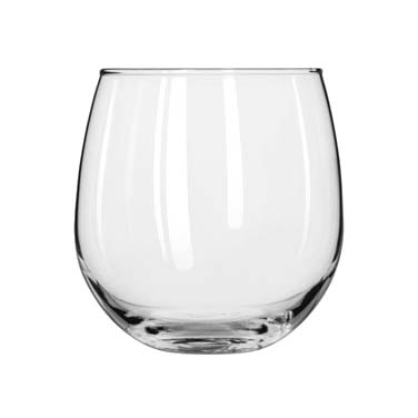 Libbey- Red Wine Glass, 16-3/4 oz., Stemless 12/Case (222)