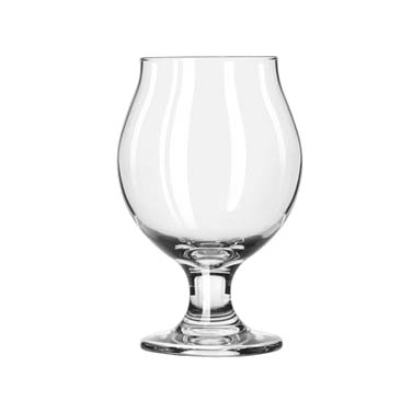 Libbey- Belgian Beer Glass, 13 oz., glass, clear 12/Case (3807)