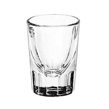 Libbey- Whiskey Shot Glass, 1-1/4 oz., fluted 48/Case (5135)