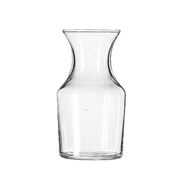 Libbey- Carafe, 8-1/2 oz. rim full (6 oz. to the neck), glass 36/Case (719)