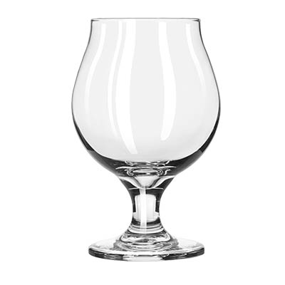 Libbey- Belgian Beer Glass, 10 oz., stackable, tapered top, glass, clear 12/Case (3817)