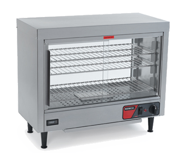 Nemco - Countertop Heated Display Case w/Water Reservoir | Public Kitchen Supply