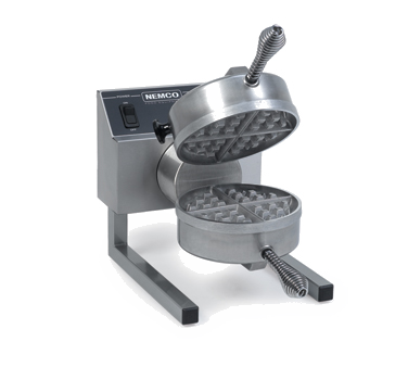 Nemco - Removable Grids Belgian Waffle Baker | Public Kitchen Supply