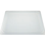 Cambro - Half 1/2 Size Food Pan Seal Cover White | Public Kitchen Supply
