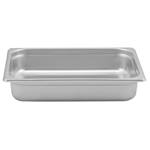 "Browne - 1/2 Size x 2.5"" Deep Stainless Food Pan 