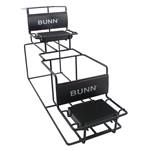 Bunn® - Universal Two-Tier Airpot Rack  | Public Kitchen Supply