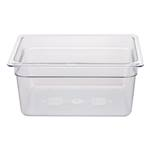 "Cambro - Half 1/2 Size x 6"" Deep Food Pan Clear Cold 