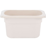 "Cambro - 1/9 Size x 4"""" Deep High-Heat Food Pan  