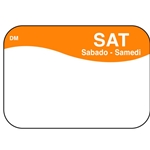 "DayMark - .8 x 1.3"" Dissolvable Label (Sat) 