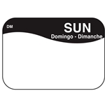"DayMark - .8 x 1.3"" Dissolvable Label (Sun) 