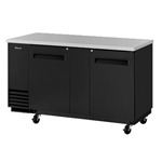 "Turbo Air - 69"" Bar Cooler (2 Section) 