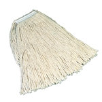 Rubbermaid - #24 White Cotton Mop Head | Public Kitchen Supply