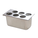 Fundamental Designs - 6-Hole FIFO Organizer | Public Kitchen Supply
