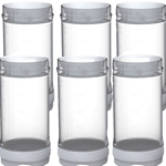 Fundamental Designs - 16 oz FIFO Portion Pal Bottles Triple Valve (6 ct) | Public Kitchen Supply