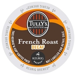 Tully's Coffee - Decaf French Roast K-Cups | Public Kitchen Supply