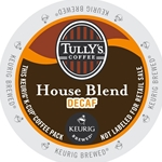 Tully's Coffee - Decaf House Blend K-Cups | Public Kitchen Supply