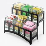 Cal-Mil - Mission 2 Tier Jar Display | Public Kitchen Supply