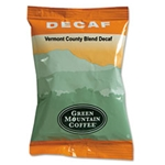 Green Mountain - Vermont Country Blend Decaf Ground Coffee (2.2 oz)  | Public Kitchen Supply