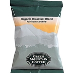 Green Mountain - Organic Breakfast Blend Ground Coffee (2.5 oz) | Public Kitchen Supply