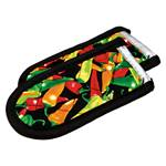 Lodge - 2-Piece Hot Handle Holder Set (Multi-Chili Pepper) | Public Kitchen Supply