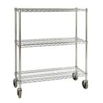Rubbermaid - 3-Shelf Ingredient Bin Rack | Public Kitchen Supply