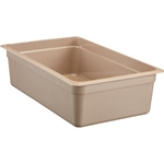 "Cambro - Full 1/1 Size x 6"""" Deep Food Pan Amber Hot 