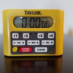 Taylor - TIMER,DIGITAL,1 DISPLAY/4 EVENT