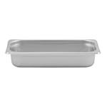 "Browne - 1/3 Size x 2.5"" Deep Steam Table Pan (SS) 