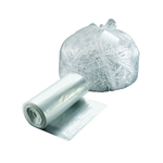 Bunzl - 33 Gallon Trash Liner Hi-D Clear | Public Kitchen Supply