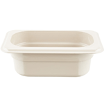 "Cambro - 1/9 Size x 2.5"""" Deep Food Pan  