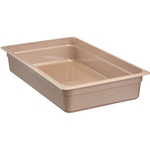 "Cambro - Full 1/1 Size x 4"""" Deep Food Pan Amber Hot 