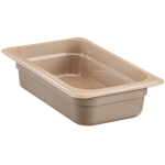 "Cambro - 1/4 Size x 2"""" Deep High-Heat Food Pan  