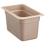 "Cambro - 1/4 Size x 6"""" Deep High-Heat Food Pan  