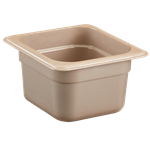 "Cambro - Sixth 1/6 Size x 4"""" Deep High-Heat Food Pan  