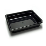 "Cambro - 1/2 Size x 2.5"" Deep High Heat Food Pan (Blk)
